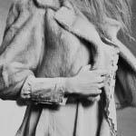 Visone zaffiro femmina